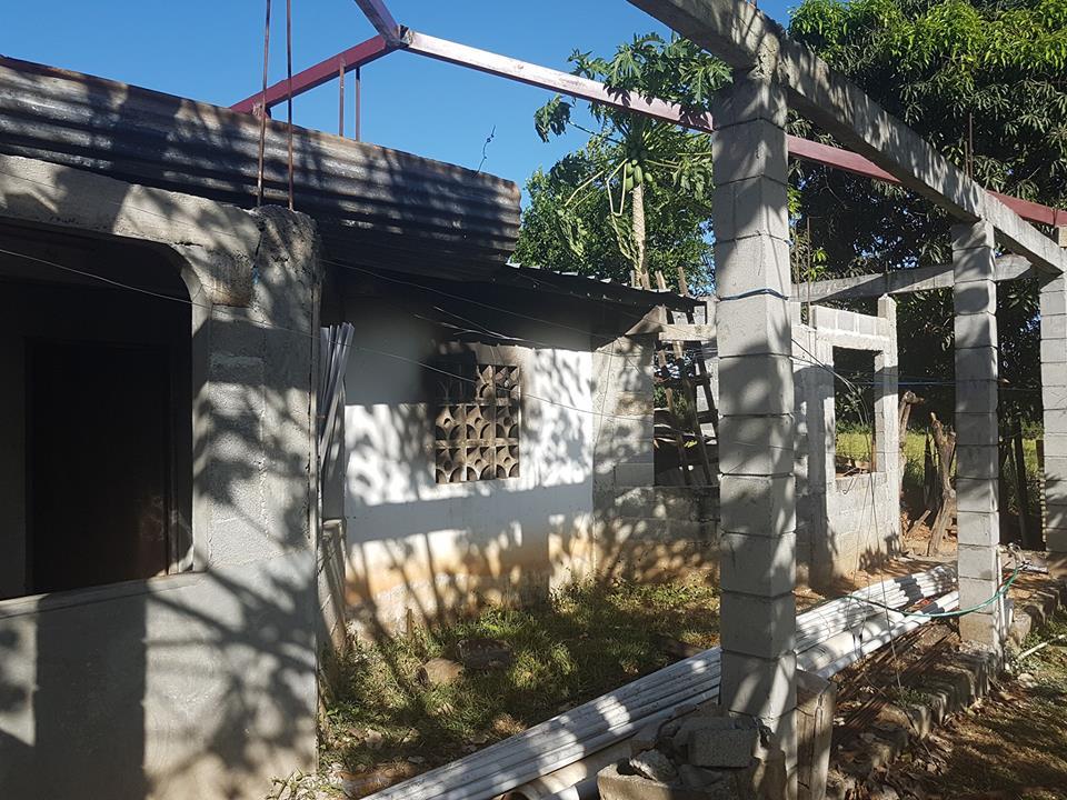 Incendio registrado en el sector de Tres Bocas de los Algarrobos.