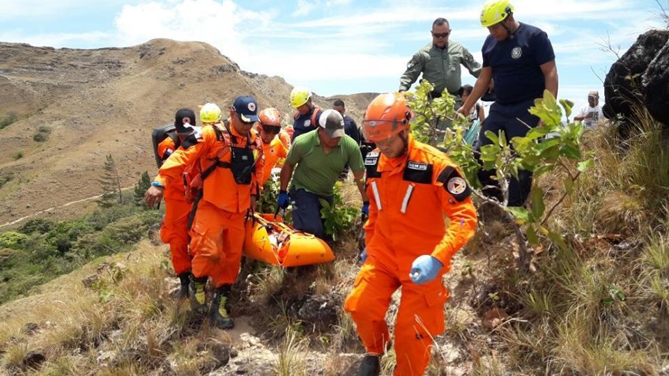Accidente en el Chorro La Silampa en Chitra de Calobre.